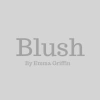 blush logo greyscale